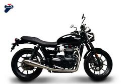 Complete Exhaust Termignoni Racing Conical Steel Triumph Street Twin 2017 17