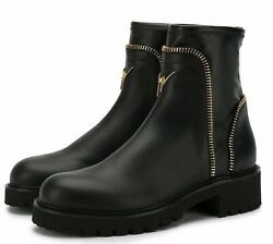 Giuseppe Zanotti Carly Combat Ankle Festival Boots Army Stiefel Shoes Shoes 36