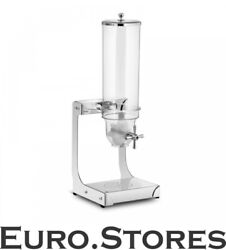 Royal Catering Cereal Corn Flakes Dispenser Portioner Rccs-3.5lss Brand New