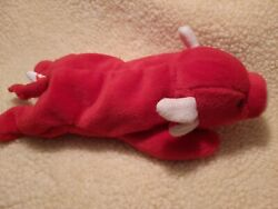1995 Snort The Bull Beanie Babygently Used Without Tag