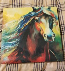 Horse Painting Signed By Artist Marcia Baldwin Free Shipping