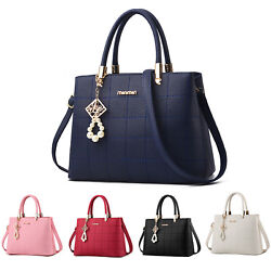 Satchel Purses and Handbags for Women Fashion Lady PU Leather Shoulder Tote bag $21.99