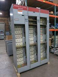 Ge 8000 600a/300a 480v 3x Section Motor Control Center 600/300 Amp Mcc 3ph 3w