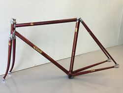 Cinelli Super Corsa Track Frame And Fork 48cm. Slx Tubing 90and039s