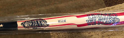 Limited Edition No 1 Of 50 American Flag Cooperstown Custom Baseball Bat Mlb