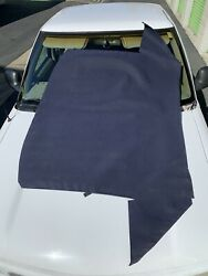 New Factory Mercedes Blue Softtop Convertible Top For R129 Sl300 Sl500 Sl600