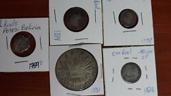 Colonial Coins - Lot Of 5 Realescoins