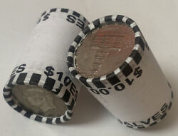 2 Unsearched Rolls Of Half Dollars, Kennedy Enders, Possible Silver
