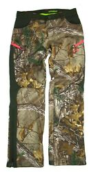 Under Armour Womens Scent Control Camo Hunting Pants 1247080 Size 8 Msrp 179.99