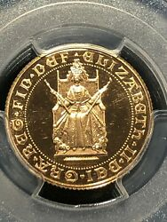 1989 Great Britain Gold Sovereign Pcgs Pr 67 Dcam 500th Anniversary Of Gold Sov.