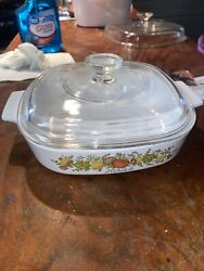 Corning Ware Vintage A-8-b 1.4 L Spice Of Life L 'echalote
