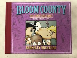 Bloom County Complete Library Vol 5 1987-1989 Hardcover1st Print 2011 Unread
