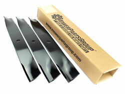 3 Mower Blades For Exmark Quest 50 Deck E And S Series Replaces 115-5059-03