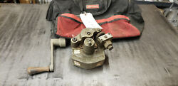 Victaulic Ve-26c Roll Grooving Tool 2-6 Copper Pipe Tubing W/crank In Bag Lot4