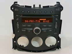 Nissan 370z Oem Rds Radio Bluetooth 6 Cd Disc Changer Mp3 Player Aux In Stereo