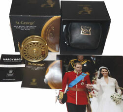 Hardy St. George 3 Lhw Royal Wedding Commemorative Gold Fly Reel No.015/100...