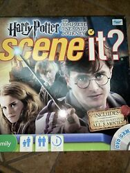 Harry Potter 2011 Scene It Complete Game With Dvd Hermione Ron