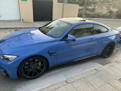 Carbon Performance Sideskirt Blades/ Sill Covers Underskirts For Bmw M4 F82 F83