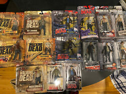 Lot Of 15 The Walking Dead Amc Tv Series Figures - Sealed