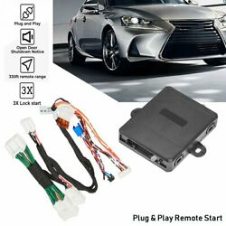 For Lexus Rx350 Lx570 Nx300h Remote Start Plug And Play Activated 3x Lock Start