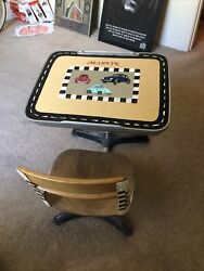 Vintage Bak-city-sch 57467 Childrens School Desk. Local Pick Only. Or You Pay..