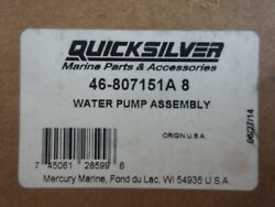 Mercury Marine Quicksilver Water Pump Assembly 46-807151a8 Oem New In Sealed Box