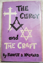 The Clergy And The Craft - Forrest Haggard First Edition, Inscribed