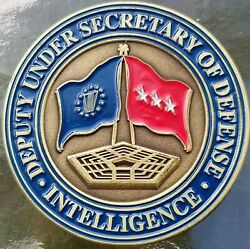 Deputy Secretary Of Defense Intelligence Red Flag Current Coin