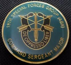 Us Army 19th Special Forces Group Airborne 19th Sfg A Csm Command Sergeant M
