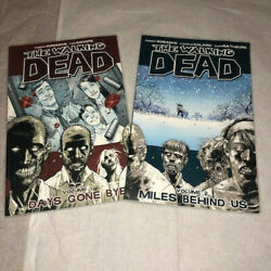 The Walking Dead Volume 1 And 2, Comic Book Image Comics