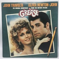 Grease The Movie Original Soundtrack 2x Lp 1978 Vg+ / Vg+ Mca Rs-2-4002