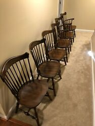 Coventry Hitchcock Dining Table And Chairs
