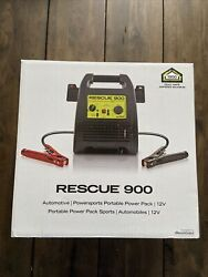 New Quickcable Rescue 900 Portable - Vehicle Battery Jump Starter Pack 12v 18 Ah