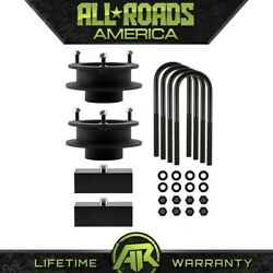 Full 3.5 Front Spacers 1.5 Rear Lift Kit 4 Axle For 2003-2013 Ram 2500 3500