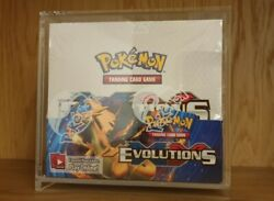 Pokemon Tcg Xy Evolutions Sealed Booster Box - Pack Of 36 With Display Box