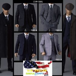 1 6 Male Suit Agent WWII British Vintage For 12quot; Figure HOT TOYS PHICEN ❶USA❶