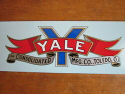 2 1913 1914 1915 Yale Gas Tank Water Transfer Decals Antique Motorcycle