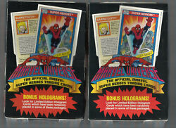 1990 Marvel Universe Series 1 Huge Lot Of 1000+ Cards Spider-man Holo's Impel