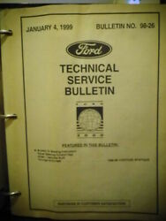 1999 Ford Technical Service Bulletin 26 Manuals Car Truck Free Shipping