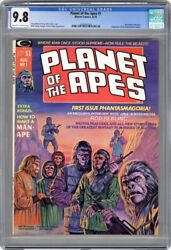 Planet Of The Apes 1 1974 Marvel Cgc 9.8 White Pages