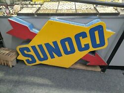 Everbrite Sunoco Gas Station Single-side Lighted Sign