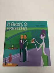 Heroes And Monsters New Works By Shag Josh Agle Numbered Limited Edition N411