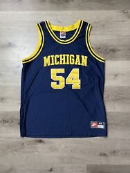 Authentic Robert Tractor Traylor 48 Xl Nike Michigan Wolverines Jersey 90s 🔥🔥