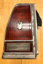 1976 Chevy Monte Carlo Tail Light Quarter Panel Extension And Lens Lh 76 Gm Oem