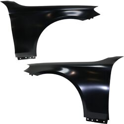 Set Of 2 Fenders Front Left-and-right For Mercedes S Class Aluminum Sedan Pair