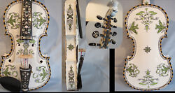 Hand Made Norwegian Fiddle 8 Strings 4/4 Violin Of Profession Concert 13097