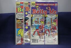 Archie Comic Group Betty And Me No.142,144,145 Lot 24