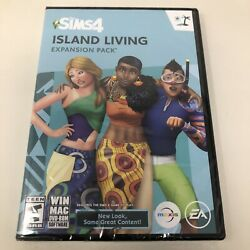 The Sims 4 Island Living Expansion Pack Windows/mac Dvd-rom Game - New Sealed