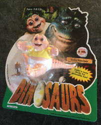 Baby Sinclair Official Dinosaurs Tv Hasbro Action Figure 1991 Never Been Opened