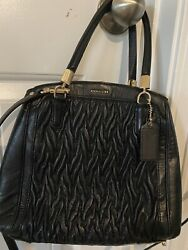 Coach Bag leather Convertible $78.00